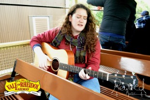 Music On The Train with Grace Hartrey Oct 2015